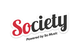 society powered by so music logo